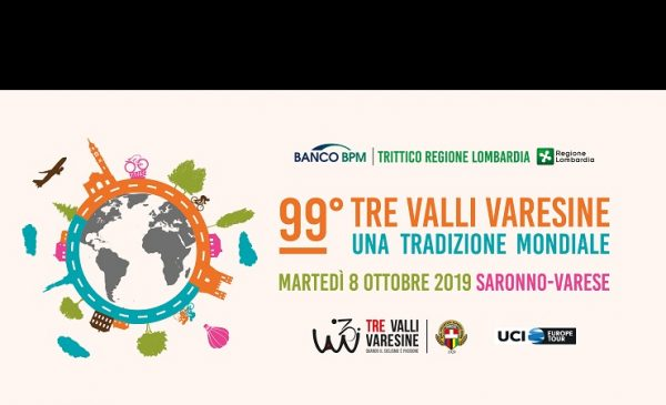 Tre Valli Varesine 2019, percorso, planimetria, altimetria e start list