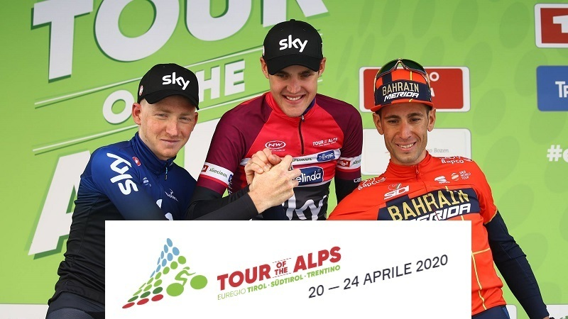 Tour of the Alps 2020 (Ex Giro del Trentino): percorso, tappe con altimetrie e start list