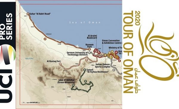Tour of Oman 2020: percorso, altimetrie e start list