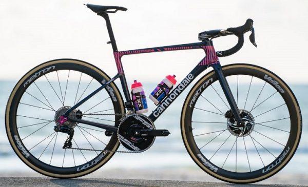 Le immagini delle nuove bici Cannondale della EF Procycling Team