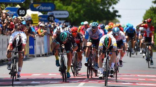 Tour Down Under 2020: Sam Bennet mette il sigillo sulla prima tappa