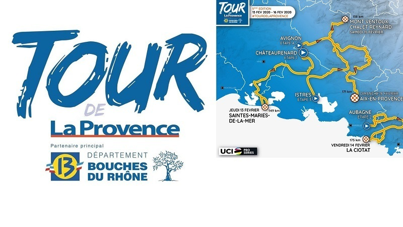 Tour de la Provence 2020: percorso, altimetrie e start list